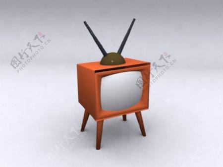 电视机3d模型电器模型图片30