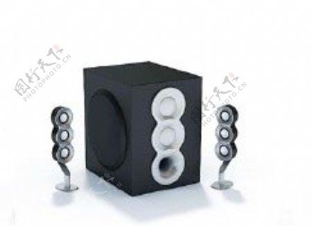 音箱3d模型电器模型图片13