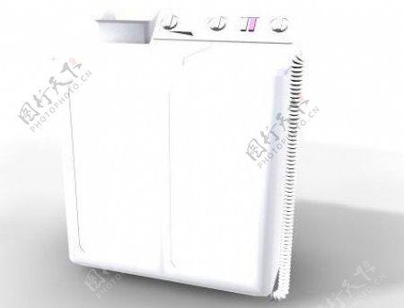 洗衣机3d模型电器模型图片21