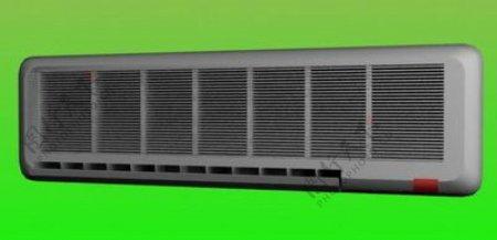 空调3d模型电器模型图片16