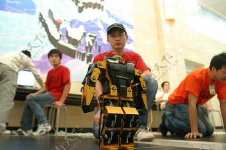 第八届机器人足球赛图片