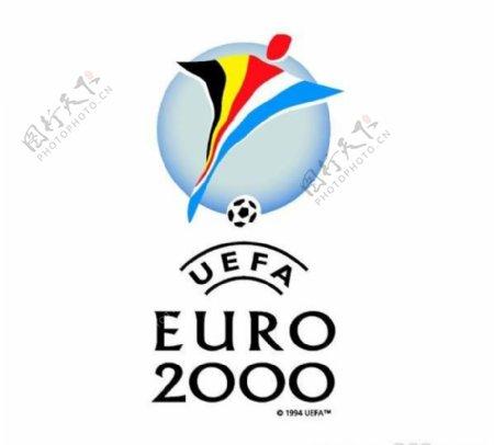 矢量2000欧洲杯足球赛标志