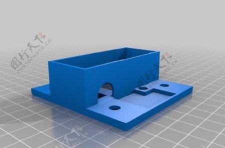 对铝型材挤压开关电源板