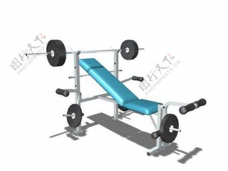 文化体育用品3d健身器材模型电器模型17