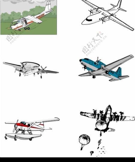 飞机矢量飞机矢量图片