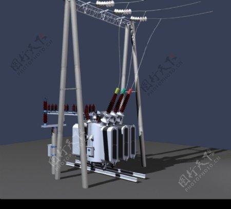 高压电器模型图片