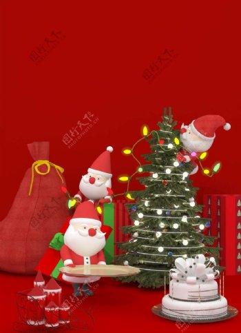 圣诞互相图片