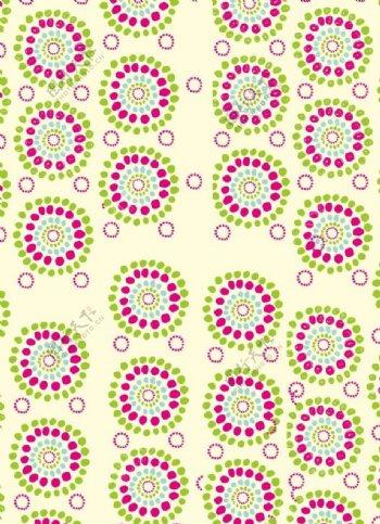 圆形对称图案图片