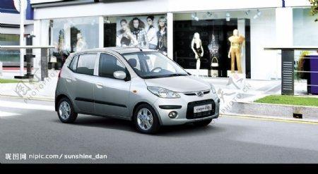 现代汽车图片