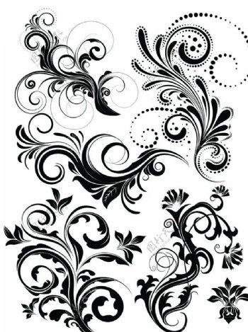 复古花纹图片