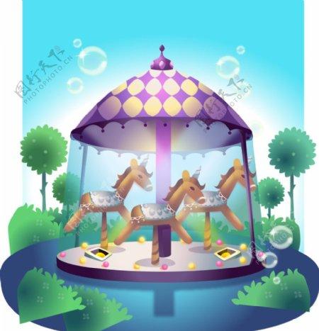 儿童娱乐器材图片