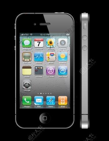 iphone4s苹果图片