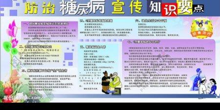 糖尿病防治知识图片