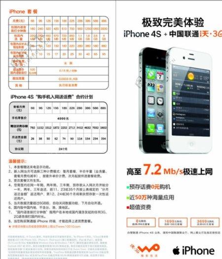 iPhone4S折页图片