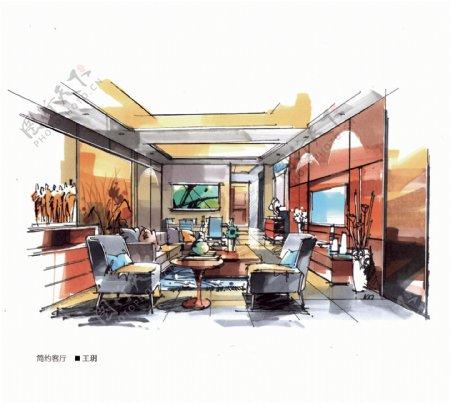 大禹手绘室内手绘室内设计