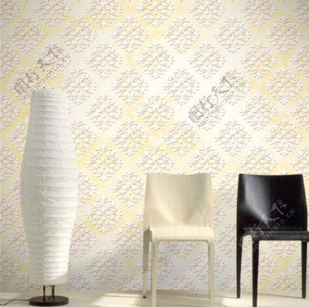 现代简约欧式花朵墙纸壁画背景墙