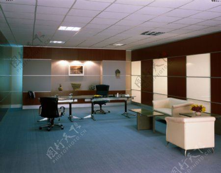 高层领导办公室设计图片