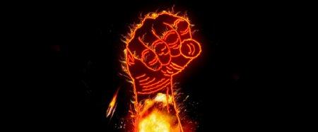 强劲拳头带火重磅出击素材