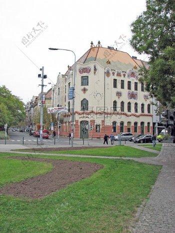 欧洲风格的建筑