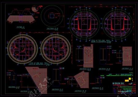 机械设计展示CAD机械图纸