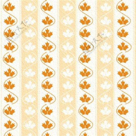 黄色枫叶条纹壁纸