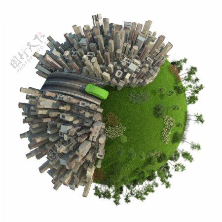 微型地球概念图片