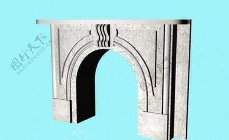 建筑构件之杂项3D模型e007