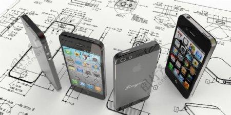 iPhone5的封面设计