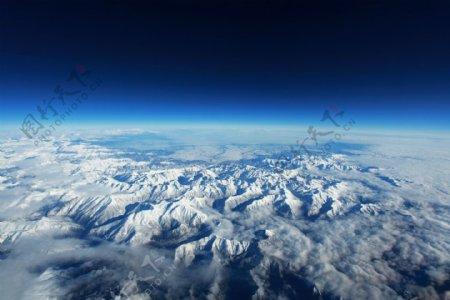 高大的山脉