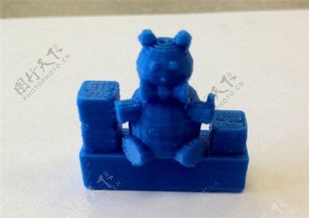 泰迪熊3D打印模型