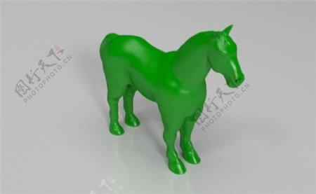 马3D打印模型