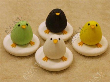 可爱的小鸟3D打印模型