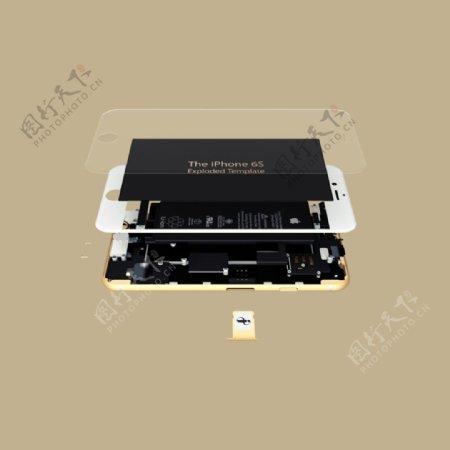 iPhone6S模板素材