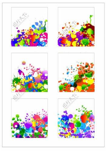 笔刷设计应用背景图案矢量素材AI格式0338