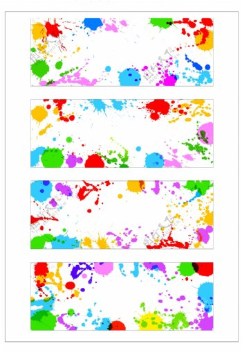 笔刷设计应用背景图案矢量素材AI格式0355