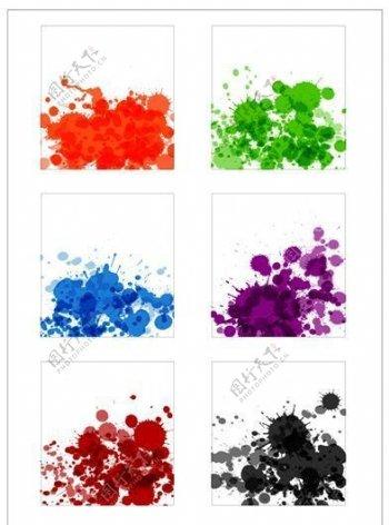 笔刷设计应用背景图案矢量素材AI格式0365