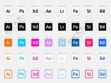 adobe网页icons