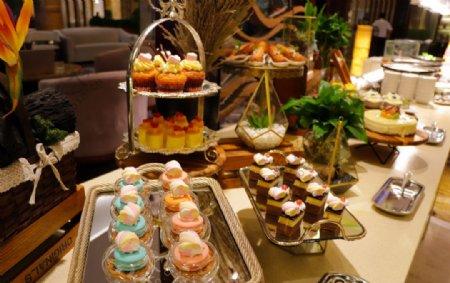 自助餐甜品台