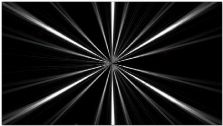 散发光束动态视频素材