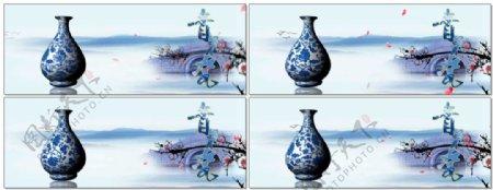 青花瓷背景音乐素材视频素材