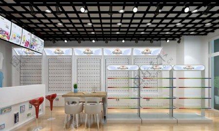 动漫店店面3D设计展示范例