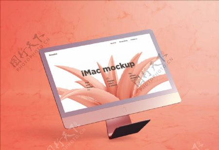 IMac屏幕展示样机