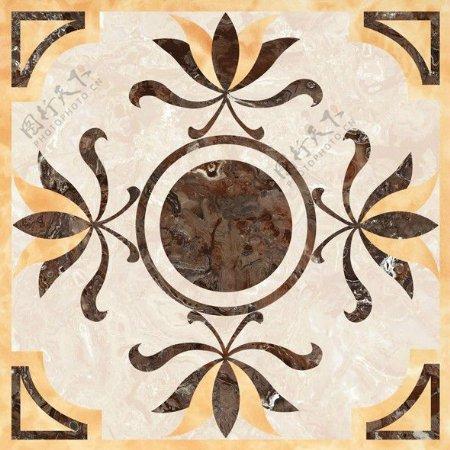中式拼花瓷砖贴图