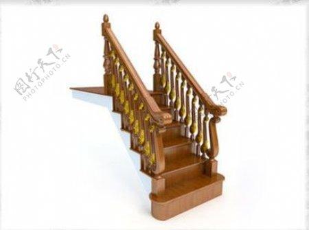 欧洲风格的楼梯
