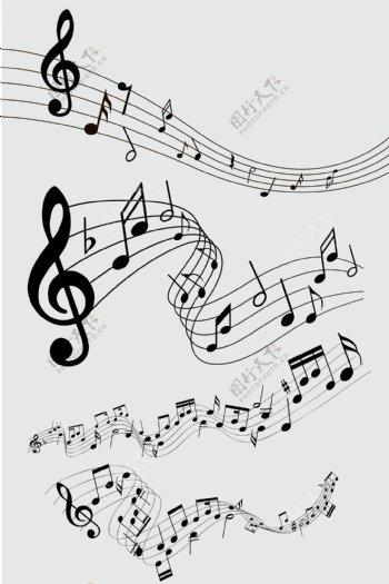 音符音乐符号音乐素材