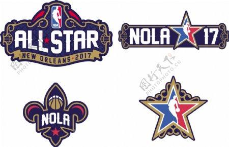 2017年NBA全明星标志