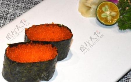 飞鱼籽军舰寿司