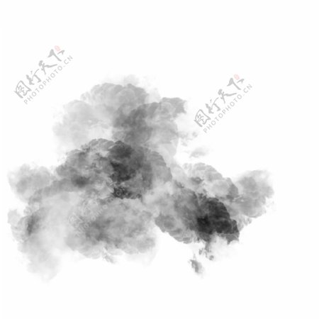 灰黑色的渲染创意图