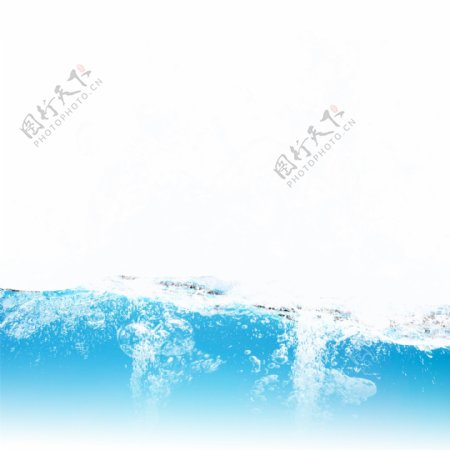 漂浮水浪水波纹元素