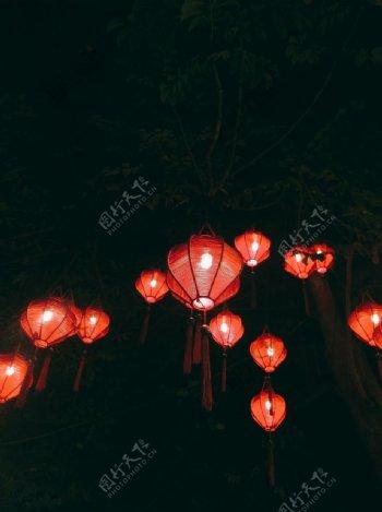 新年春节灯笼